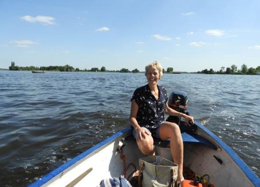 Jetske aan het varen